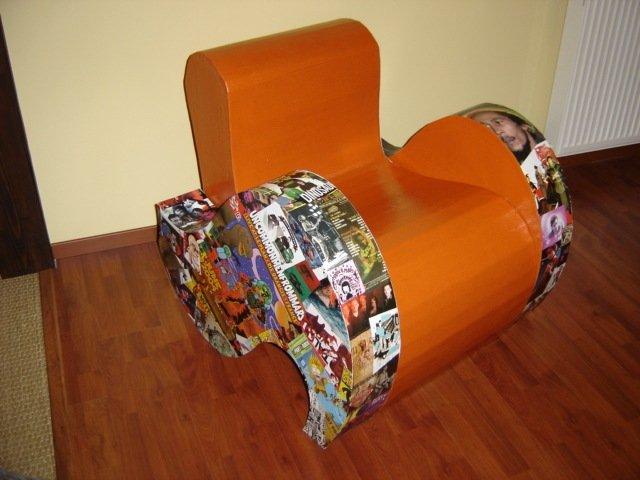 Recyclons pour decorer meubles - Meuble en papier mache ...